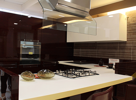 Cucina moderna mod. Extra Bambù Veneta Cucine   Brafa Convenienza