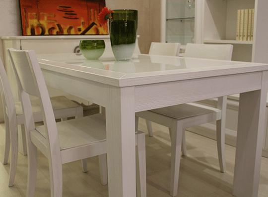 Grattarola tavolo allungabile e 4 sedie brafa for Tavolo allungabile e sedie