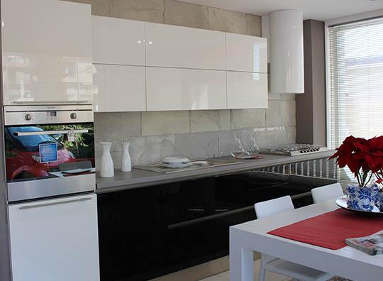 Cucina moderna Oyster Veneta Cucine | Brafa Convenienza a Rosolini