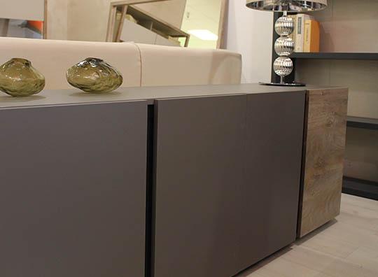 Credenza Moderna Outlet : Credenza moderna in legno multistrato duna napol arredamenti