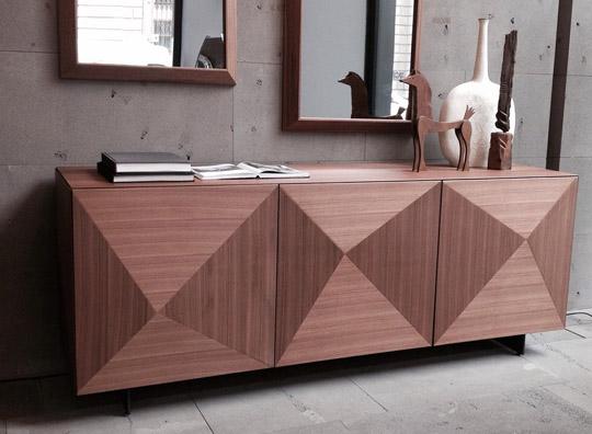 Madia riflessi in legno c wood brafa convenienza for Riflessi mobili catalogo