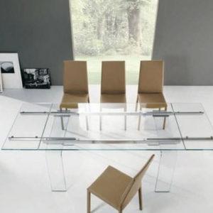 Tavolo in vetro Plano Riflessi