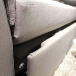 Divano 2 posti e chaise longue