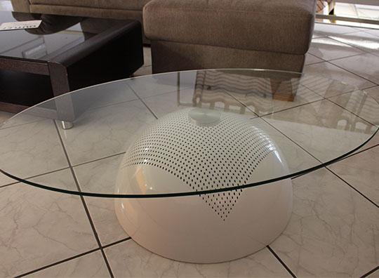 Tavolino da salotto ovale