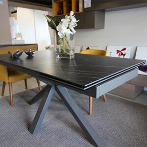 Tavolo moderno rettangolare allungabile